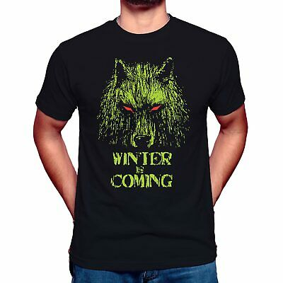 GOT - Winter Is Coming Mens Inspired Game of Thrones Stark Wolf UnisexT shirt