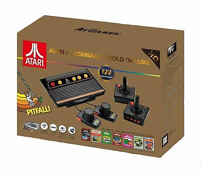 Atari Flashback 8 Gold Deluxe HD Game Console 120 Games