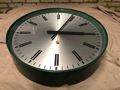 Gents of Leicester Large MOD Wall Clock Faulty for restoration