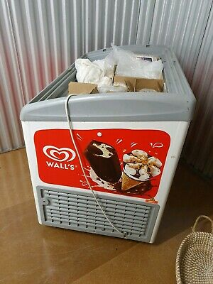 Walls Branded AHT Commercial Ice Cream Freezer