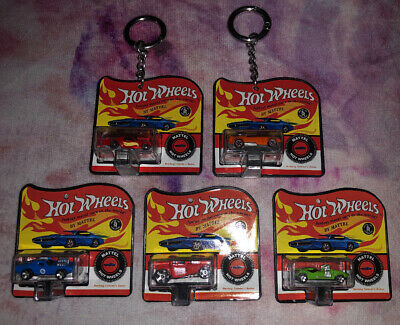 5x Worlds Smallest Hot Wheels- Collectible Toys