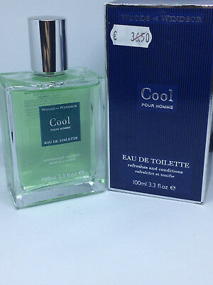 Woods Of Windsor Cool Pour Homme Profumo Vintage Uomo 100 Ml Edt Spray Raro X