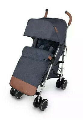 Ickle bubba discovery max Stroller Denim blue on silver frame CLEARANCE SALE