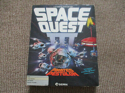 Space Quest III - The Pirates of Pestulon Amiga Game by Sierra- TESTED.