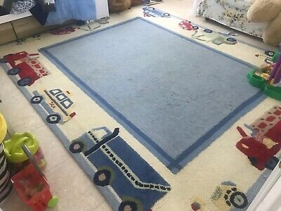 Pottery Barn Kids Cameron Rug Natural 5/' x 8/' NEW IN PACKAGE