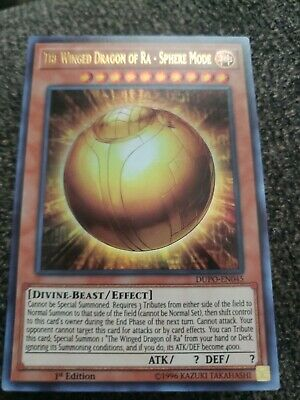 The Winged Dragon Of Ra - Sphere Mode DUPO-EN045 Ultra Rare NM/M YuGiOh!