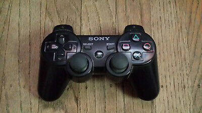 Official Sony Playstation 3 (PS3) Dualshock 3 Sixaxis Wireless Controller Black