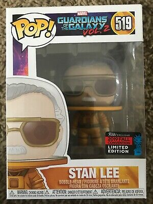 Funko Pop Nycc 2019 Marvel Guardians Of The Galaxy Vol 2 Stan Lee 519 Astronaut
