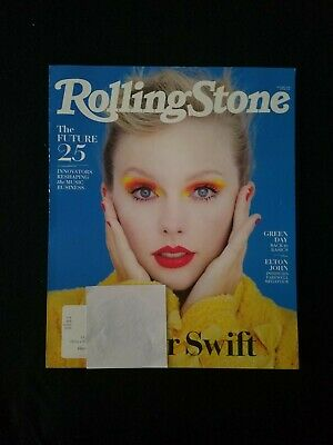 Rolling Stone Magazine, Taylor Swift, October 2019 - New, Never Read