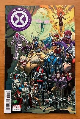 HOUSE OF X #6 2019 Javi Garron Connecting Variant  vf/nm
