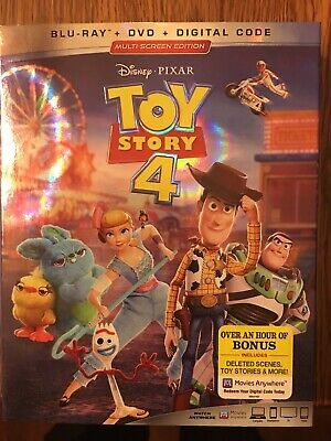 Toy Story 4 (Blu-ray + DVD + Digital; 2019) NEW with Slipcover.