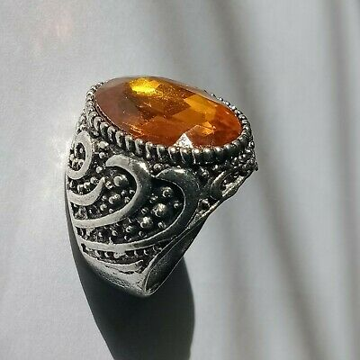 Ancient Ring Legionary Roman Old Ring Metal with Stone