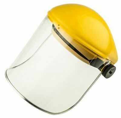 JSP AFA Clear Eye Shield AFA011-130-200 Full Face Visor without Chin Guard PPE