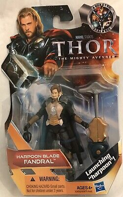 "Marvel Studios Thor The Mighty Avenger Harpoon Blade FANDRAL 3.75"" Action Figure"