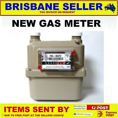 Gas Meter  Natural Lpg & Inert Gas Made In Switzerland Brand New