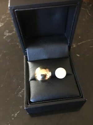 Ladies 9ct Gold And Pearl Ring