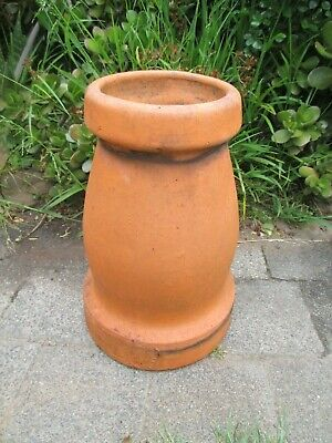Terra cotta chimney pot garden urn pot planter statue stand
