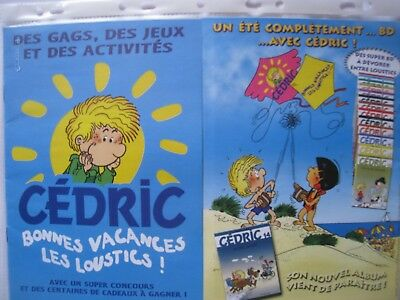 Laudec Cedric Album Plage Inedit Neuf Journal  Spirou