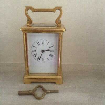 Brass Non Striking Carriage Clock