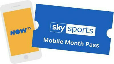 NOW TV 1 Month Sky Sports Mobile Pass - Mobile Devices Only