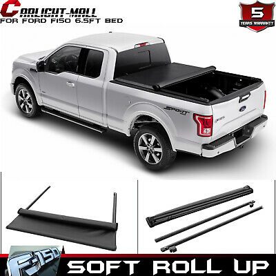 "78/"" Bed Roll Up Lock /& Soft Tonneau Cover For Ford F-150 2004-2014 With 6.5/"""