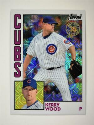 2019 Topps Update Silver Pack 1984 Base #T84U-11 Kerry Wood - Chicago Cubs