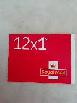 Book of 12 Royal Mail 1st class Stamps.