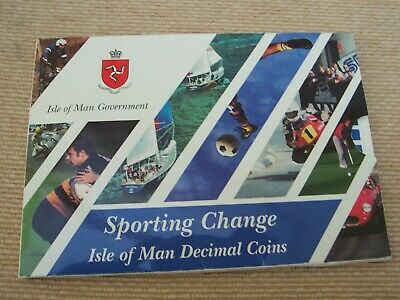 1998 Isle Of Man Sporting Change Coin Set