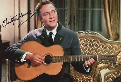 Signed Christopher Plummer - The Sound Of Music Film Photo. 12x8. **Charity**