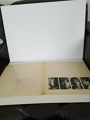 the beatles white album no 0161043  apple pmc7068- (xex711) 1968 used