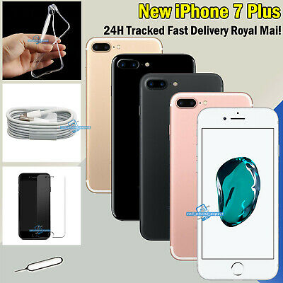 NEW 256GB 128GB 32GB Mobile Smartphone Apple iPhone 7 Plus Unlocked All Colours