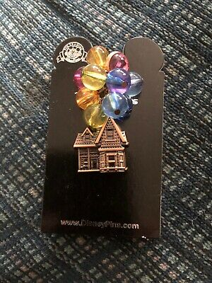 BEADED BALLOONS HOUSE UP! New on Card Character Trading Pin Disney