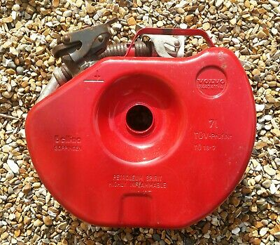 Spare Wheel Tyre Reserve Fuel Petrol Gas Jerry Can Container BMW Volvo Mercedes