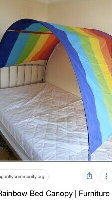 Ikea Rainbow Bed Canopy