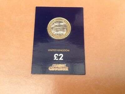 "Rare Change Checker Isle Of Man £2 Two Pound Coin 1998 ""Vintage Rally Car"""