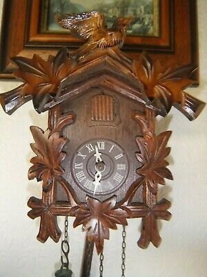 Vintage Wooden Small Cuckoo Clock