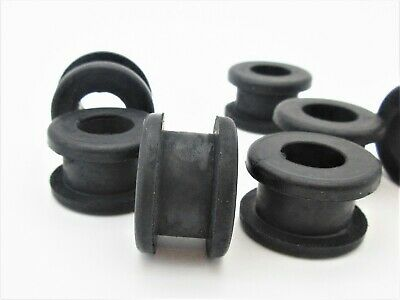 Metric Rubber Grommets for 19mm hole. 13mm ID, 25mm OD, Fits 8mm- 10mm Panel.
