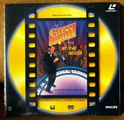 The Glenn Miller Story - Laser Disc Pal