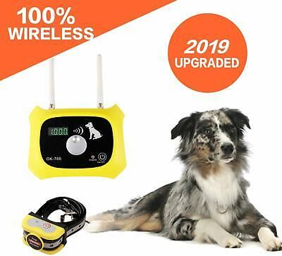 JUSTSTART Wireless Dog Fence Electric Pet Containment System, Safe and Effective