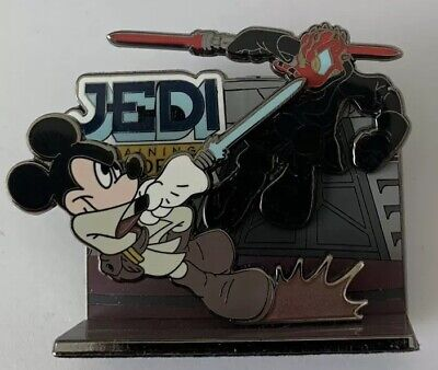Disneyland - Darth Maul Donald & Jedi Mickey Mouse Star Wars 2008 Odyssey Pin