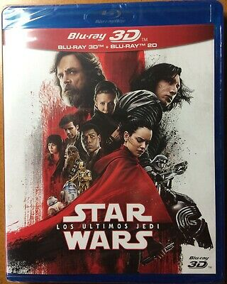 Star Wars Los Ultimos Jedi - Bluray 3D + Bluray (Precintado)