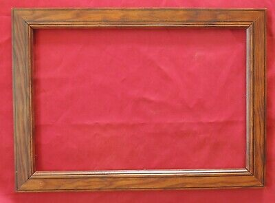 France 1940: Fine Picture Frame, Hardwood, Natural Grain, in 19th century Style