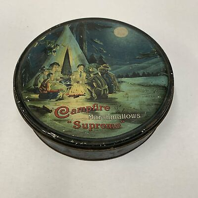 "CAMPFIRE MARSHMALLOWS ""Supreme"" Tin Packaging 