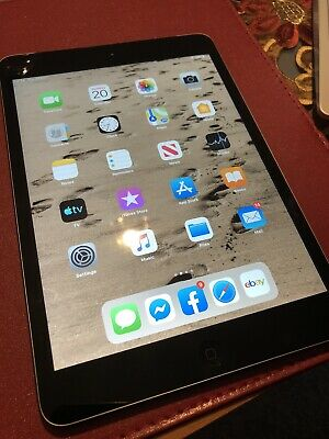 Apple iPad mini 2 64GB, Wi-Fi + Cellular (Unlocked), 7.9in - Space Grey