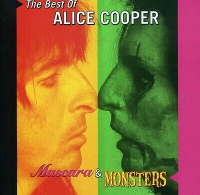 Mascara & Monsters: The Best of Alice Cooper (CD, Jan-2001, Warner) *NEW*
