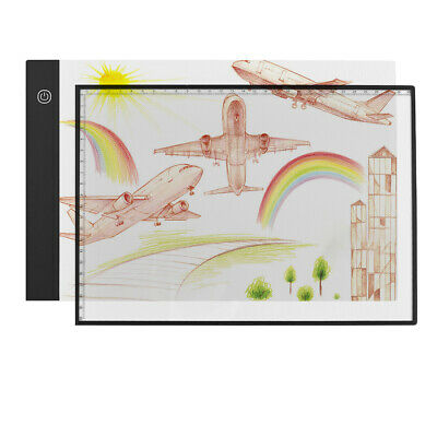 A4 Ultra-Thin Light Box LED Artcraft  Eye-protecting Tracing Light Pad with T0I6