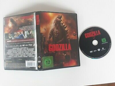 DVD Godzilla (WARNER 2014) Aaron Taylor-Johnson Gareth Edwards