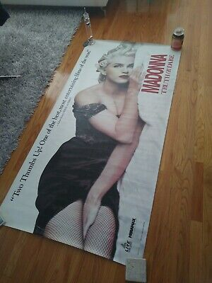 Madonna Huge Subway Poster Truth Or Dare