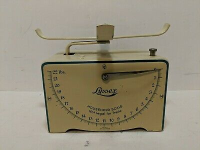 Vintage Lyssex Swiss Made Kitchen Scales 22 pounds
