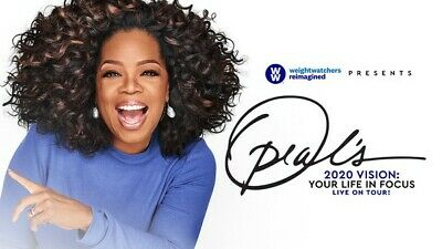 2 VIP SOLD OUT Oprah's 2020 Vision Your Life in Focus 02.08.20 Meet Oprah in NYC